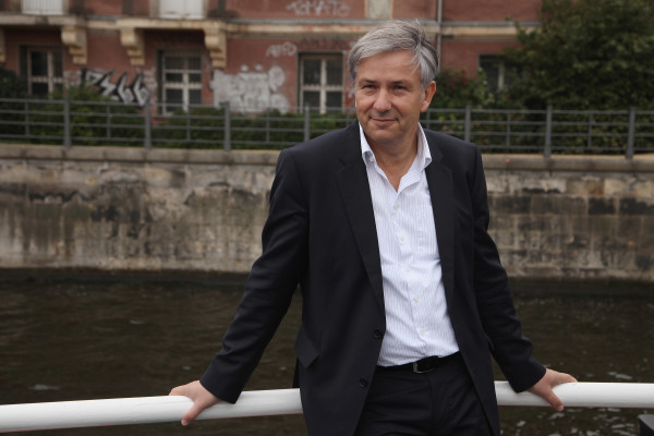 Wowereit And Elderly Citizens Tour Central Berlin